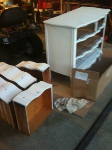 antique dresser transforms